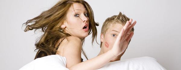 pareja infiel pillada